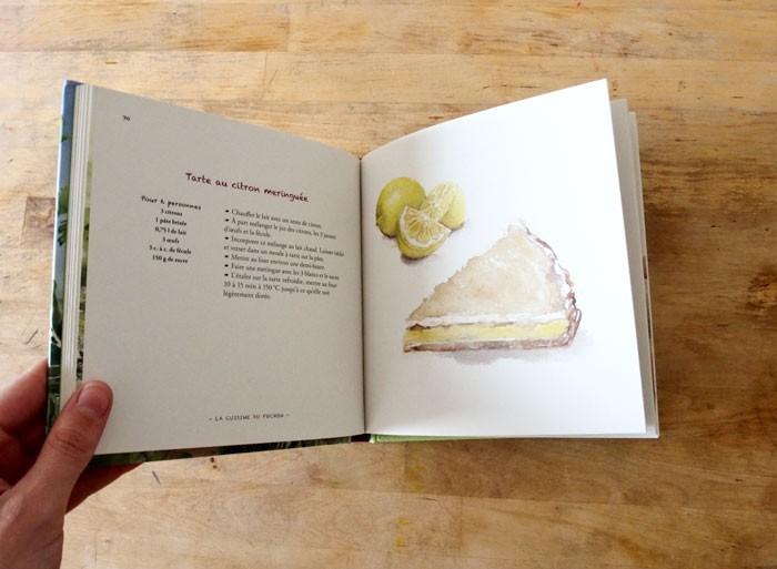 Les spécialités du Pochon : tarte au citron meringuée