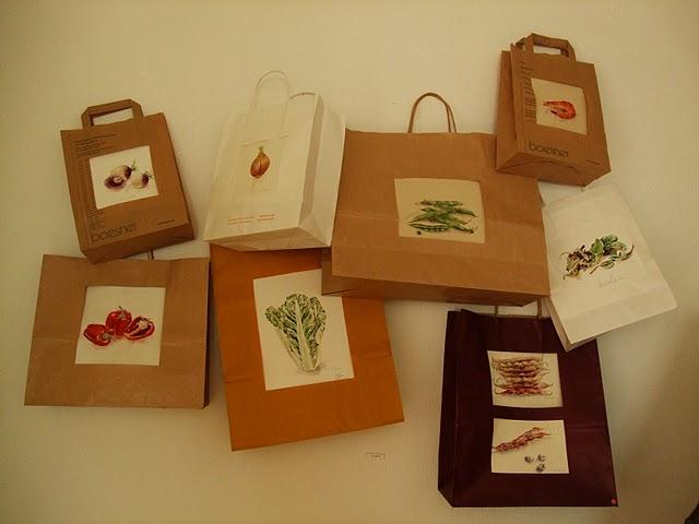 30 ans du Pochon : Légumes en sac