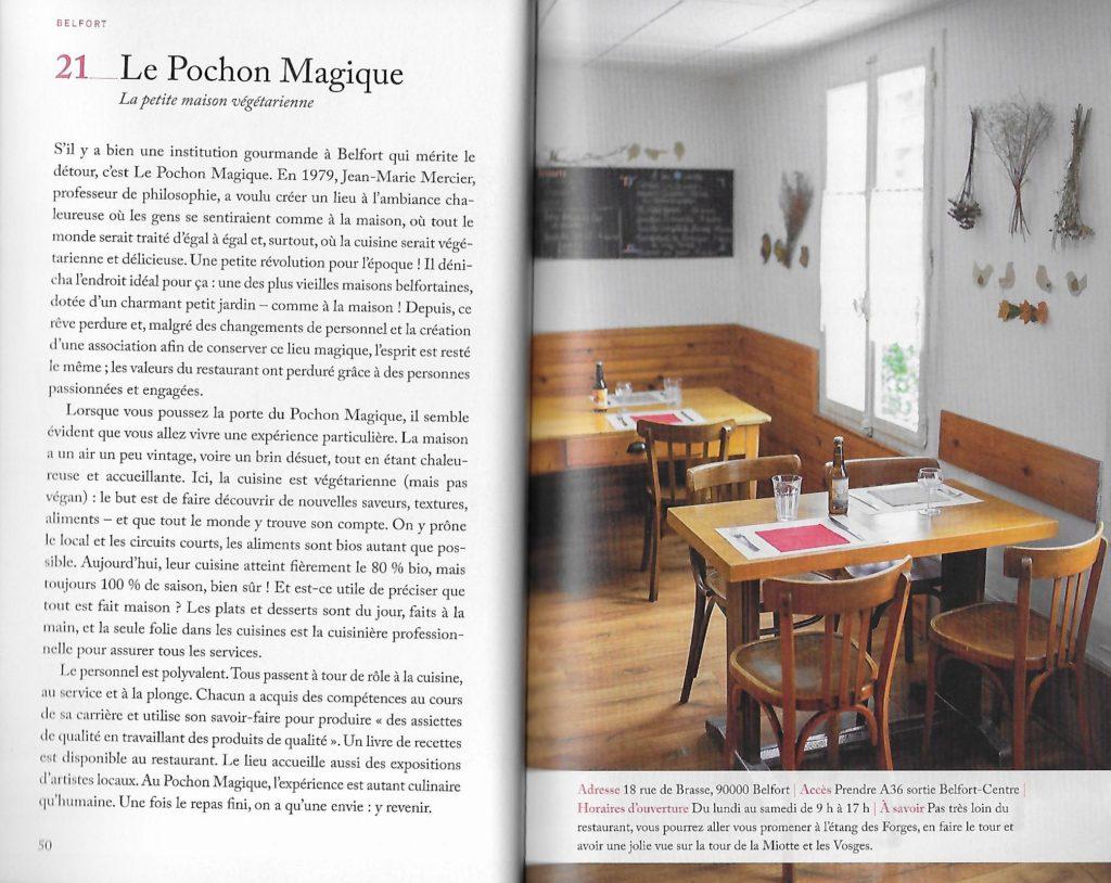 """Le Pochon Magique dans le livre """"111 lieux en Franche-Comté à ne pas manquer"""""""